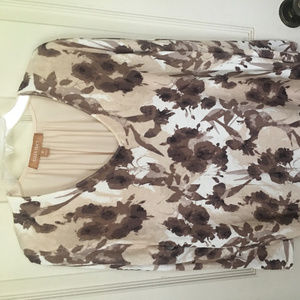 ELLEN TRACY TOP SIZE M NEW WITH TAGS